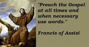 Pastor Allen... Father Assisi Quotes