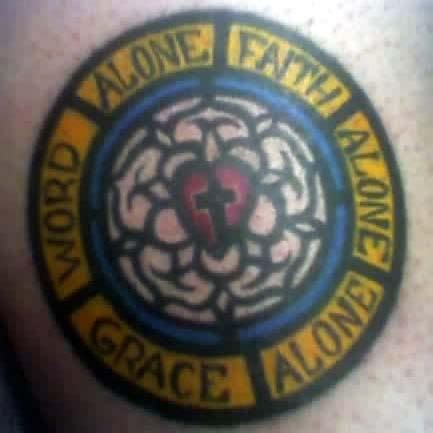 pics  lutheran rose tattoo tattoo designs