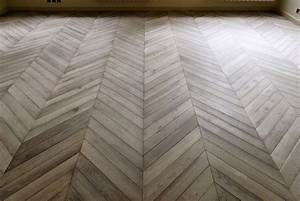 oak flooring gray leached chevron parquets de With grey parquet flooring