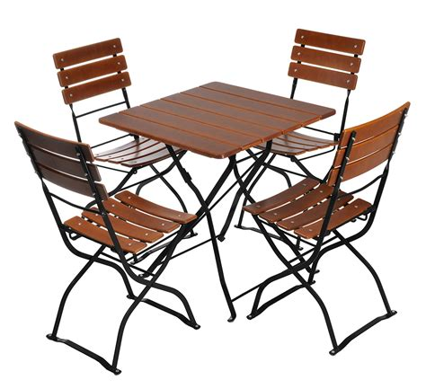 european bistro set rectangle table and 6 chairs