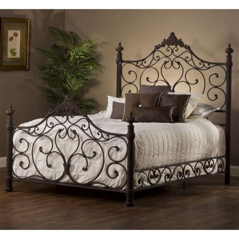 profile king metal bed frame headboard footboard