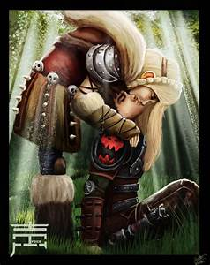 Hiccup And Astrid by justinwharton on DeviantArt | Fire ...