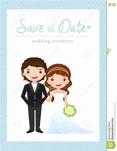 cartoon wedding invitation card stock vector image 73464295 With wedding invitation animation template