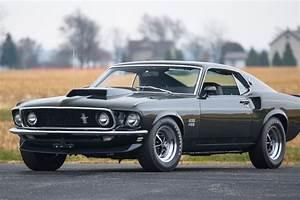 Black Jade Boss: '69 Mustang Boss 429 Fastback at Mecum Indy | News | Racecar | Creative Digital ...