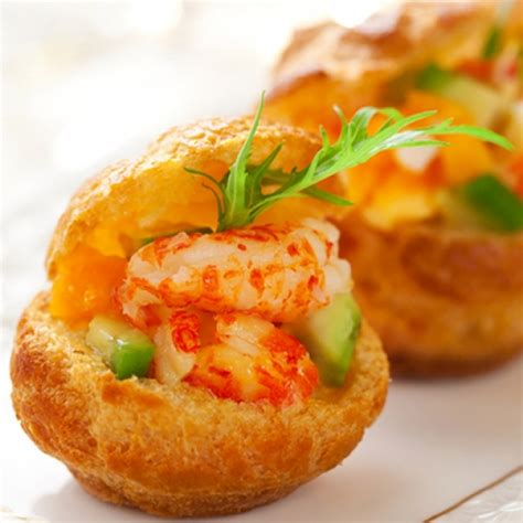 canape food a delicious recipe for prawns with avocado canape these