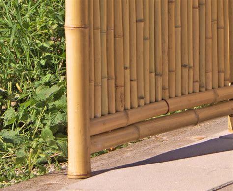 Paravent Für Aussen by Bambus Paravent Als Raumteiler Natur 180x180cm Kaufen