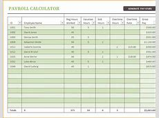 5+ microsoft excel payroll template Secure Paystub