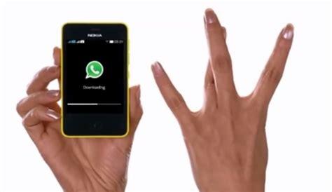 whatsapp with nokia asha 501 nokia india one