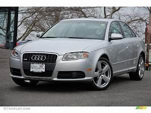 Audi A4 2008 : 2008 light silver metallic audi a4 3 2 quattro s line ~ Dallasstarsshop.com Idées de Décoration