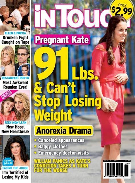 kate middleton pregnant tabloid claims duchess