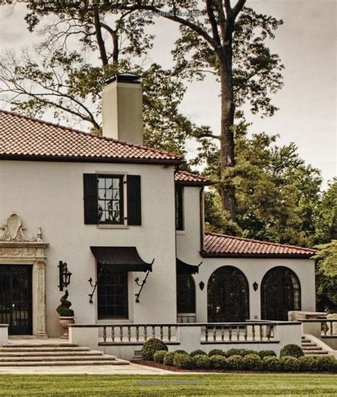 style house canap mediterranean style homes with awnings small