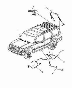 2006 Jeep Commander Wiring - Doors  U0026 Liftgate
