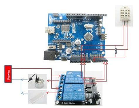 arduino automatic temperature humidity controller