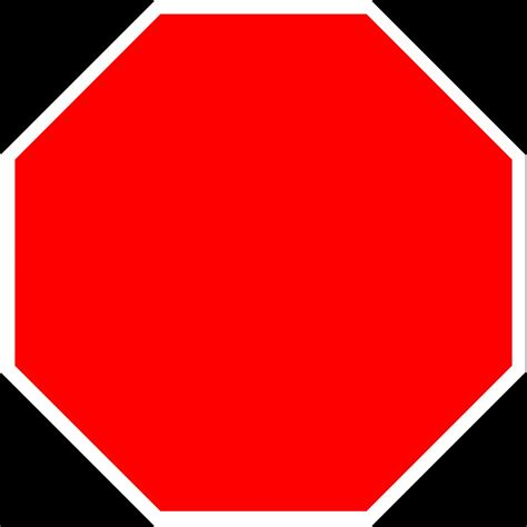 stop sign template blank stop sign blank template imgflip