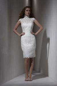 Short designer wedding dresses styles of wedding dresses for Short designer wedding dresses