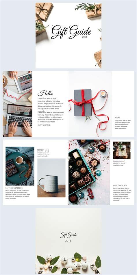 stunning gift guide template design flipsnack