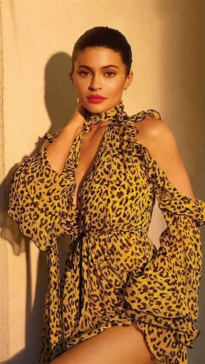 Jenner Kylie Glamour Magazine Autumn Winter Yellow