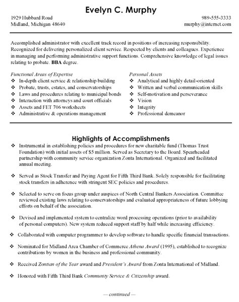 Best Resume For Administrative Officer by Research Assistant Resume Exle Page 1 Quotes
