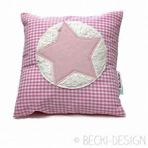 Kissen Mit Stern : kleines kissen mit stern rosa becki design ~ Markanthonyermac.com Haus und Dekorationen
