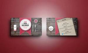 25 business cards for chefs free premium templates With chef business cards