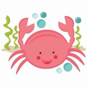 Smiling Crab SVG scrapbook cut file cute clipart files for ...