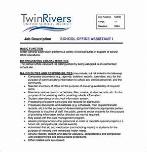 Job Description For Medical Administrative Assistant 11 Office Assistant Job Description Templates Free