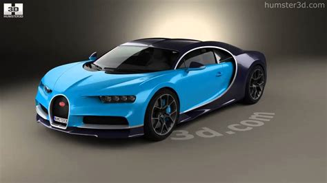 All main parts of the model are separated objects. Bugatti Chiron 2017 3D model by Humster3D.com - YouTube