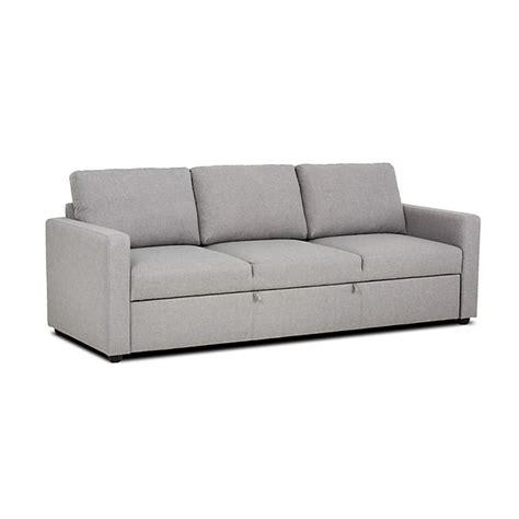 canap 233 convertible 3 places gris chin 233 tino meuble