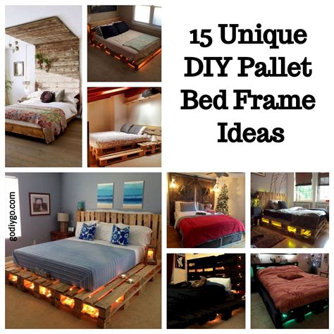 cheap modern living room ideas 15 unique diy pallet bed frame ideas godiygo com