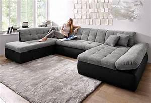 Big Sofa L Form : wohnlandschaft xxl wahlweise mit bettfunktion und armlehnenverstellung online kaufen otto ~ Eleganceandgraceweddings.com Haus und Dekorationen