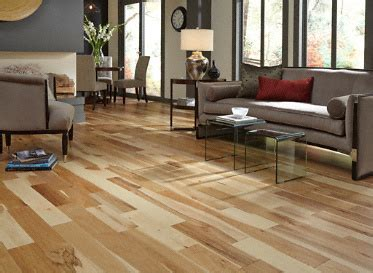 "BELLAWOOD   3/4"" x 5"" Matte Hickory Natural:Lumber"