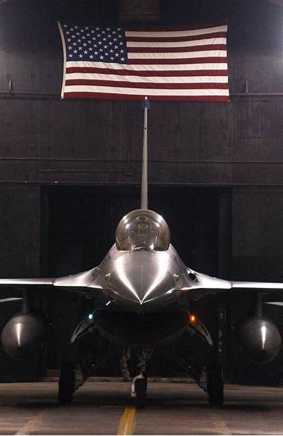 Patriotic Military Force Air Desktop Flag American