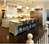 Minimalis Large Kitchen Islands With Seating Gallery Is The Island A Different Color Than White