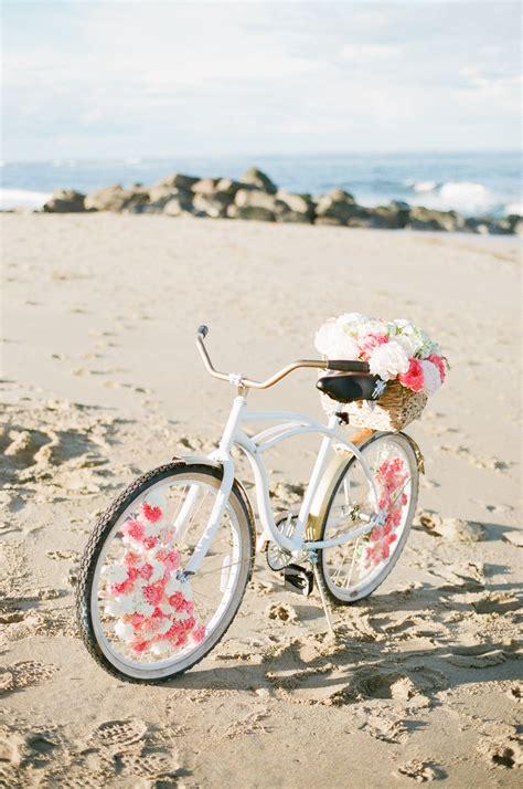 Diy Floral Beach Cruiser In 2019 All About Wedding Ideas