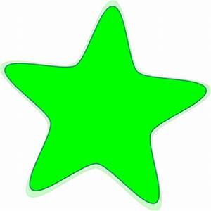 Image Gallery lime green star