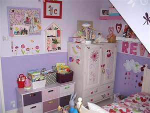 stunning idee chambre bebe 2 ans 2 contemporary awesome With idee de chambre fille