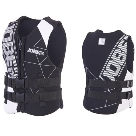 Reddingsvest Wakeboarden by Jobe Wakeboard Zwemvest Kind Zwart Reddingsvesten Be