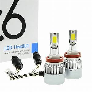 H4 H7 Led Car Headlight C6 H1 H3 Headlamp Light H8  H11 Hb3