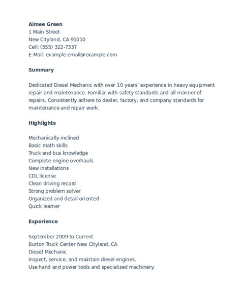 Mechanic Resume Template by Publishing A Doctoral Dissertation Tere