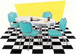 Retro Kitchen Table And Chairs For Sale In Ontario by Smart Furniture Toronto Retro Dinettes 50s Diner Kitchen Furniture Sets