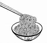 Noodle Drawing Doodle Vector Premium Hand Getdrawings Freepik sketch template