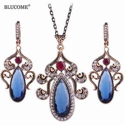 Jewelry Retro Turkish Necklace Jewellery Turkey Earring