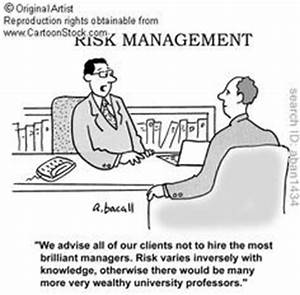 Risk Management... Funny Financial Analyst Quotes