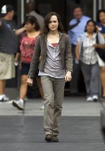 Ellen Page Photos Photos - Leonardo DiCaprio & Ellen Page ...
