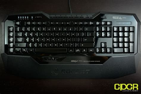 review roccat kone xtd and roccat isku fx gaming peripherals custom pc review