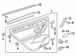 2018 Volkswagen Tiguan Speaker  Clip  Grille  Molding  2