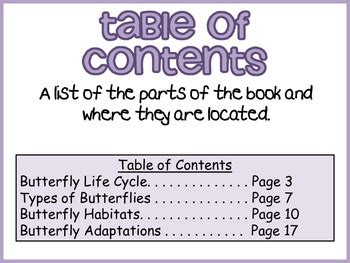 nonfiction text features posters  knj kreations tpt