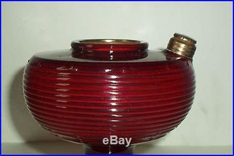 Aladdin Mantle Lamp Model B by Ruby Red Aladdin No B 83 Beehive Lamp With Model B