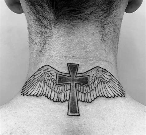 small religious tattoos  men spiritual design ideas