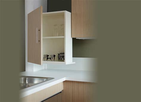 hauteur meubles cuisine cuisine adaptée pmr avec modulhome